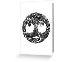 Eyerolls Greeting Card