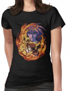 burn the burning man X Womens Fitted T-Shirt