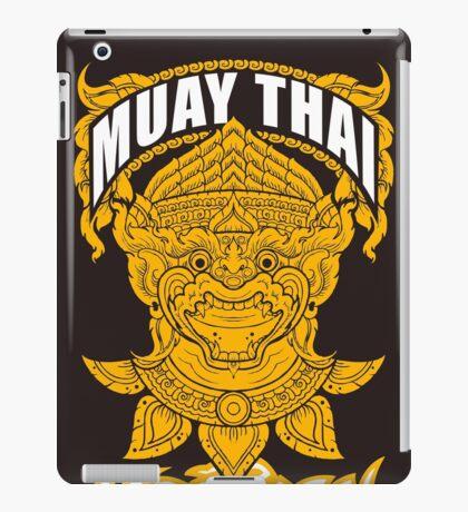 Muay Thai Hanuman Holy Fighter Martial Art Spirit iPad Case/Skin