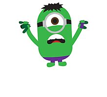Hulk Minion Photographic Print