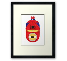Spiderman Minion Framed Print