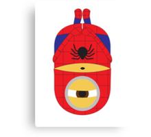 Spiderman Minion Canvas Print