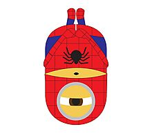 Spiderman Minion Photographic Print