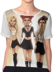 We are the weirdos, sistahs! Chiffon Top