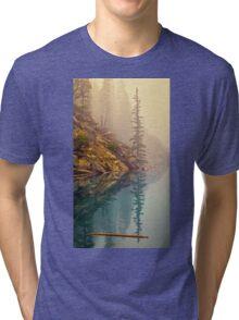 Tree In The Fog Tri-blend T-Shirt