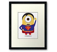 Man Of Steel Minion Framed Print