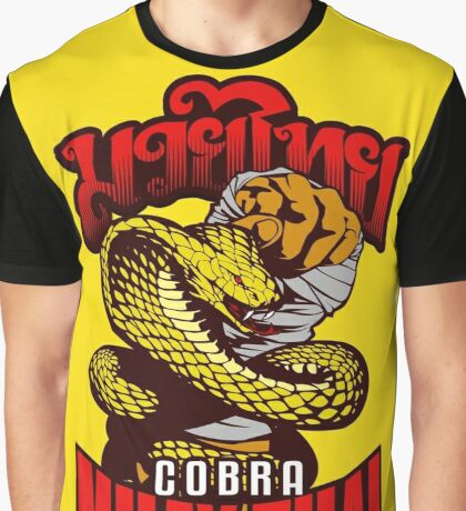 Cobra Muay Thai Thailand Animal Totem Graphic T-Shirt