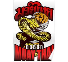Cobra Muay Thai Thailand Animal Totem Poster
