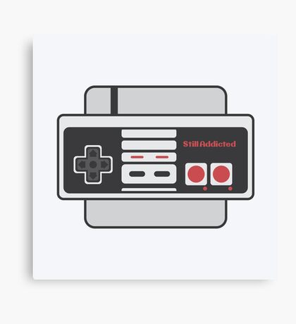 Nes - Still Addicted Canvas Print