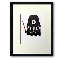 Vader Minion Framed Print