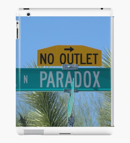 Paradox Drive - No Outlet iPad Case/Skin