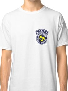 License To Kill-  Official S.T.A.R.S Bravo Police Badge Classic T-Shirt