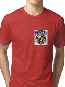 License To Kill-  Official S.T.A.R.S Bravo Police Badge Tri-blend T-Shirt