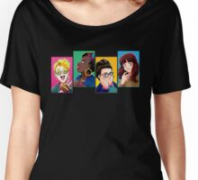 New Busters Head Shots Women's Relaxed Fit T-Shirt