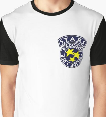 License To Kill-  Official S.T.A.R.S Bravo Police Badge Graphic T-Shirt