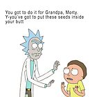Rick and Morty by snesfreak