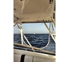 on board Photographic Print