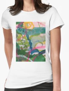 Secret Springtime Maps #1 Womens Fitted T-Shirt