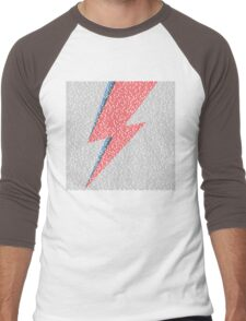 Flash Lyrics - David Bowie Lyric Men's Baseball ¾ T-Shirt