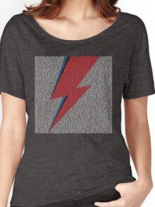 Flash Lyrics - David Bowie Lyric Women's Relaxed Fit T-Shirt
