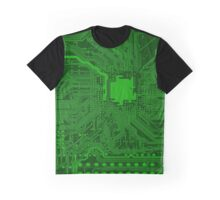 CIRCUIT BOARD (LARGE)-4 Graphic T-Shirt