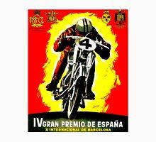 """SPANISH GRAND PRIX"" Motorcycle Racing Advertising Print Unisex T-Shirt"
