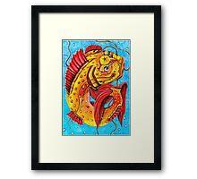 Glücksfisch Framed Print