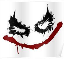 Joker inspired graffiti tag Poster