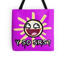 why so serious T-shirt Tote Bag