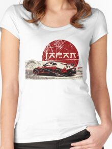 Nissan GTR Japan SUN Women's Fitted Scoop T-Shirt