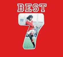 GEORGE BEST MANCHESTER UNITED 7 Unisex T-Shirt