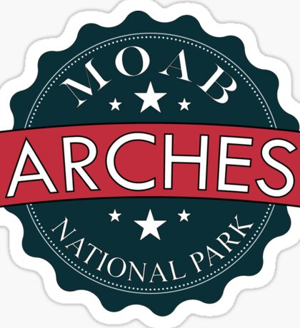 Arches National Park - Moab, Utah Sticker