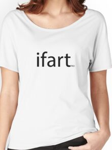 i fart pro cool spoof parody logo flirting humor   Women's Relaxed Fit T-Shirt