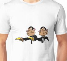 Monkey Pulp Fiction Unisex T-Shirt