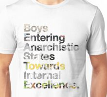 B.E.A.S.T.I.E. Anagram Unisex T-Shirt
