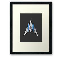 Arwing  Framed Print