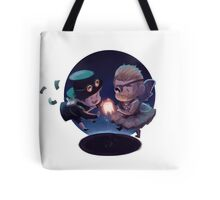Rhett and Link- Glowing Tooth Tote Bag