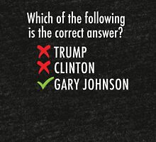 Gary Johnson for President 2016 | Vote 3rd Party Tri-blend T-Shirt