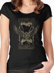 Neotraditional Vintage Hourglass Variant Women's Fitted Scoop T-Shirt