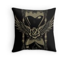 Neotraditional Vintage Hourglass Variant Throw Pillow