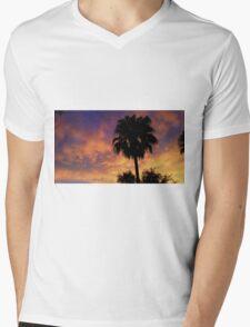 Fiery Sunset! Mens V-Neck T-Shirt
