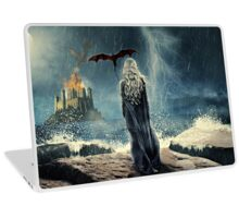 White Haired Lady Laptop Skin