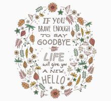 Hello Goodbye One Piece - Short Sleeve