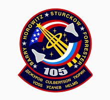 STS-105 Space Shuttle Discovery Mission Patch Unisex T-Shirt