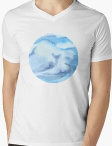 Cloud Mens V-Neck T-Shirt
