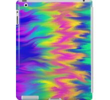 Multicoloured Flame Abstract iPad Case/Skin