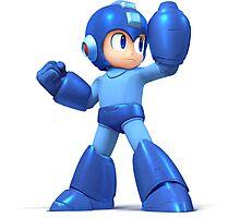 Mega Man Smash Brothers Wii U! Photographic Print