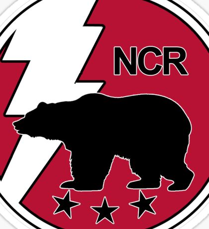 The NCR Seal Sticker