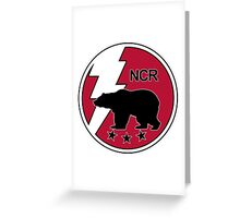 The NCR Seal Greeting Card