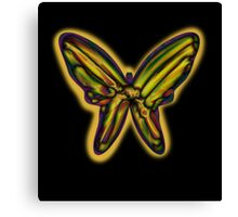 Night butterfly Canvas Print